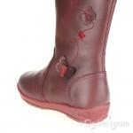 Garvalin 141621 Girls Burdeos Red Boot