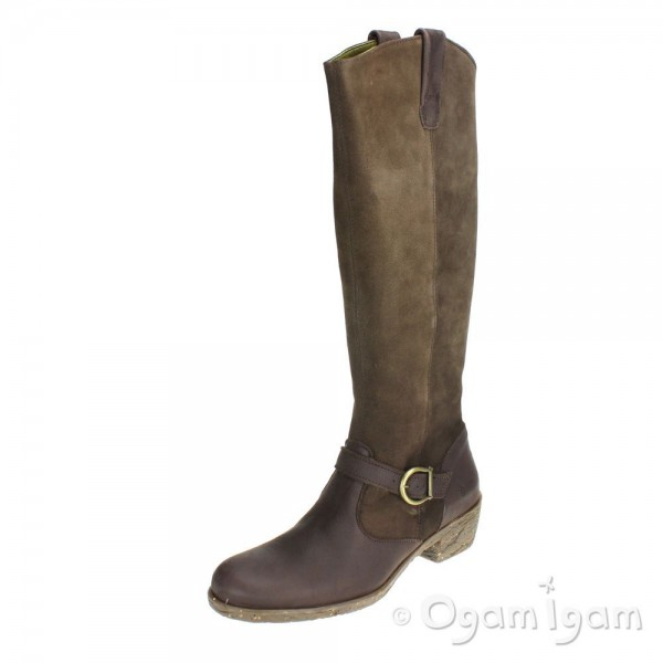 El Naturalista Quera Womens Brown Tall Boot