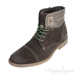 Josef Seibel Bruce 01 Westland Mens Dark Brown Boot