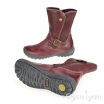 Primigi Saschia Girls Amarena Bordo Red Waterproof Boot