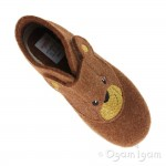 Superfit 0029523 Boys Brown Bear Slipper