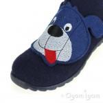 Superfit 0029580 Boys Blue Dog Slipper