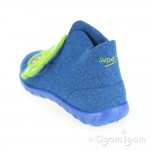 Superfit 0029588 Boys Water Blue Car Slipper