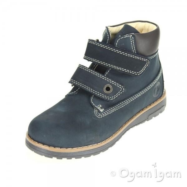Primigi Aspy 1 Boys Navy Blue Scuro Boot