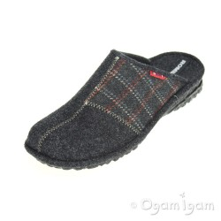 Romika Mikado H45 Mens Grey Slipper