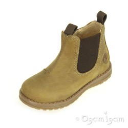 Primigi Lauren Boys Senape Brown Boot