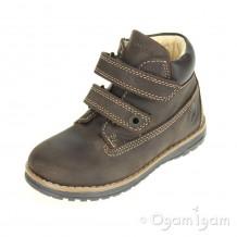 Primigi Aspy 1 Boys Marrone Scuro Dark Brown Boot