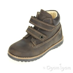 Primigi Aspy 1 Boys Marrone Scuro Dark Brown Boot