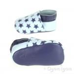 Clarks Baby Sleep Boys Pale Blue Shoe