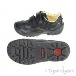 Primigi Serse 1-E Boys Nero School Shoe