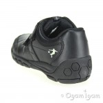 Start-rite Hat-Trick Boys Black School Shoe