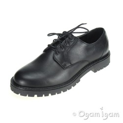 Start-rite Marlborough Boys Black School Shoe