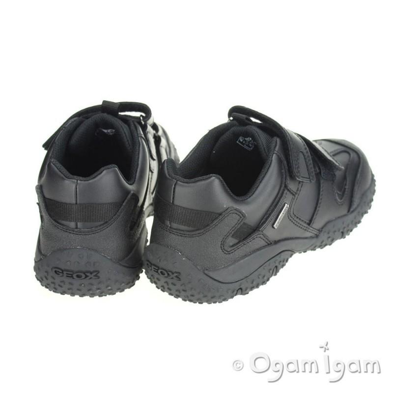 Geox Baltic Boys Black Waterproof