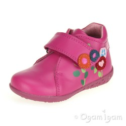 Agatha Ruiz de la Prada 141901 Infant Girls Fuchsia Pink Boot
