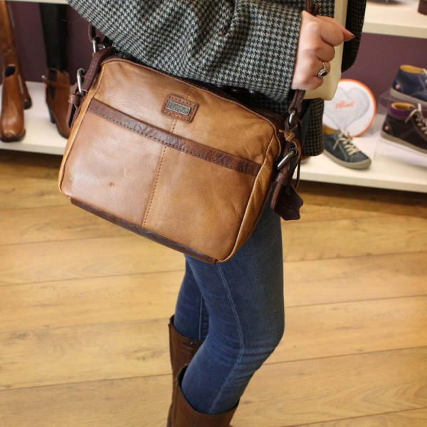 Spikes and Sparrow 24226 Womens Light Brown Bag