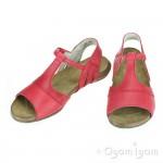 El Naturalista Wakataua Womens Grosella Red Sandal