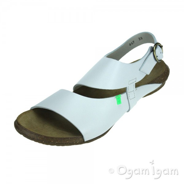 El Naturalista Wakataua Womens White Sandal
