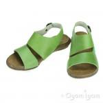 El Naturalista Wakataua Womens Green Sandal