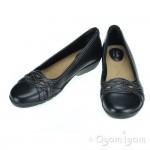 Clarks Ordell Tessa Womens Black Shoe