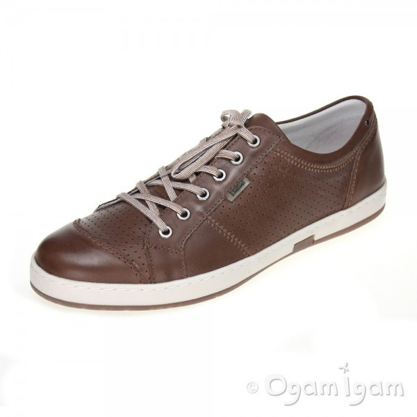 Josef Seibel Gatteo 01 Mens Bark Brown Shoe