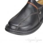 Josef Seibel Klaus Mens Black Mule Shoe