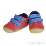 Start-rite Baby Milan Infant Boys Red Pre-Walker Shoe