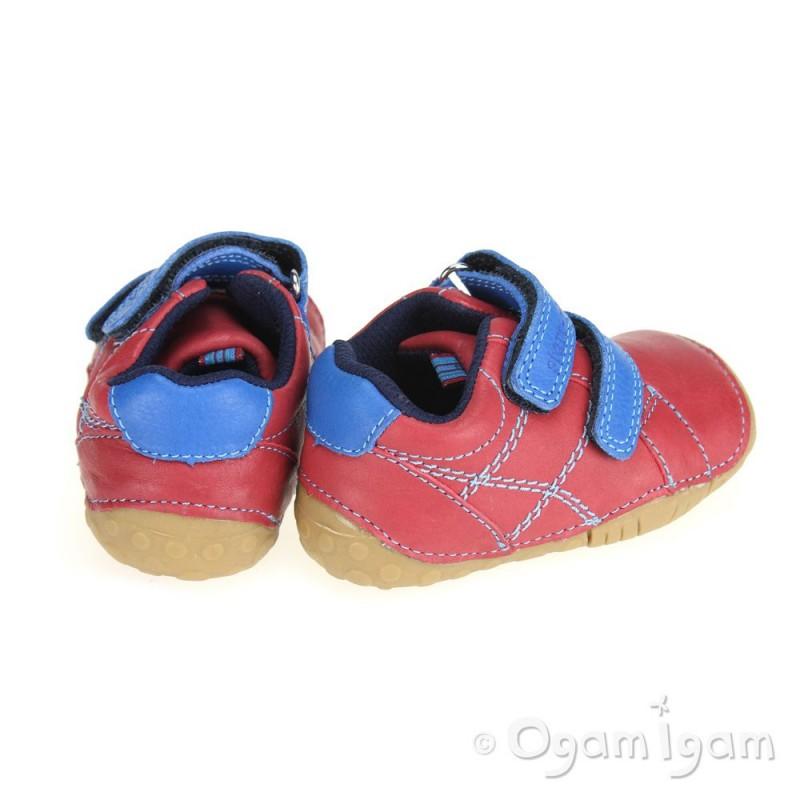 05db5ab0b86b1 Start-rite Baby Milan Infant Boys Red Pre-Walker Shoe | Ogam Igam
