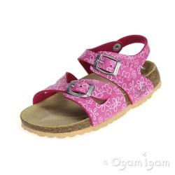 Superfit 0011564 Girls Pink Sandal