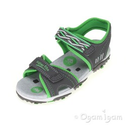 Superfit 0017305 Boys Stone Green Sandal