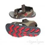 Garvalin 142811 Brown Boys Mocca Brown Sandal