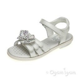 Geox Sandal Giglio Girls Off White Sandal