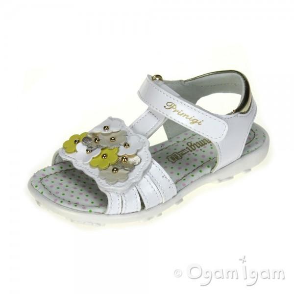 Primigi Blace Girls Bianco White Sandal
