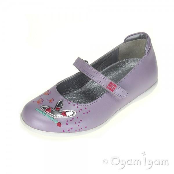 Agatha Ruiz de la Prada 152940 Girls Lilac Shoe