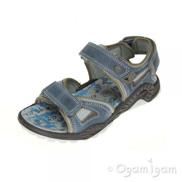 Primigi Puccio Boys Avio Grigio Blue Sandal