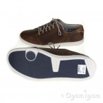 Clarks Newood Street Mens Tan Brown Shoe