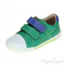 Start-rite Flexy Soft Milan Boys Bright Green Shoe