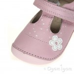 Clarks Little Linzi Girls Baby Pink Shoe