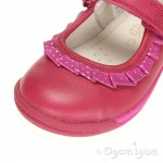 Clarks SoftlyStef Fst Girls Berry Shoe