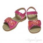 Start-rite Moon Flower Girls Hot Pink Coral Sandal