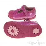 Start-rite Cats Whiskers Girls Hot Pink Shoe