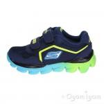 Skechers Go Run Ride Go Too Boys Navy Blue Trainer