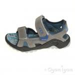 Primigi Damian Boys Pietra Cielo Grey Sandal