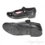 Start-rite Purrfect Girls Black School Shoe