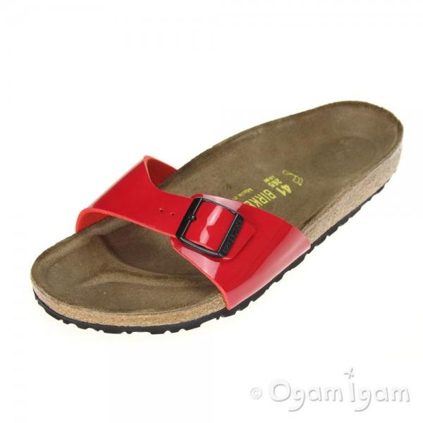 Birkenstock Madrid Womens Red Sandal