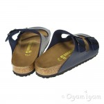 Birkenstock Arizona Womens Blue Sandal