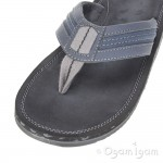 Clarks Riverway Sun Mens Navy Sandal
