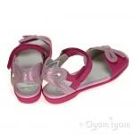 Clarks Orra Dream Girls Hot Pink Bow Sandal