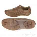 Josef Seibel Felix 01 Mens Bark Brown Shoe