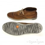 Softinos Tim Mens Brown Shoe