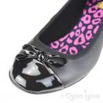 Clarks Una Ivy Girls Black School Shoe